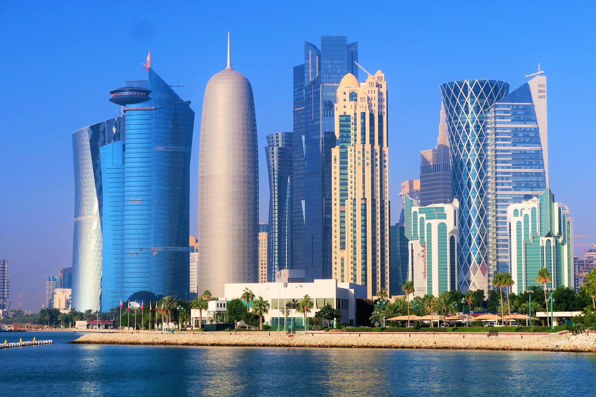 Doha_pilvelõhkujad